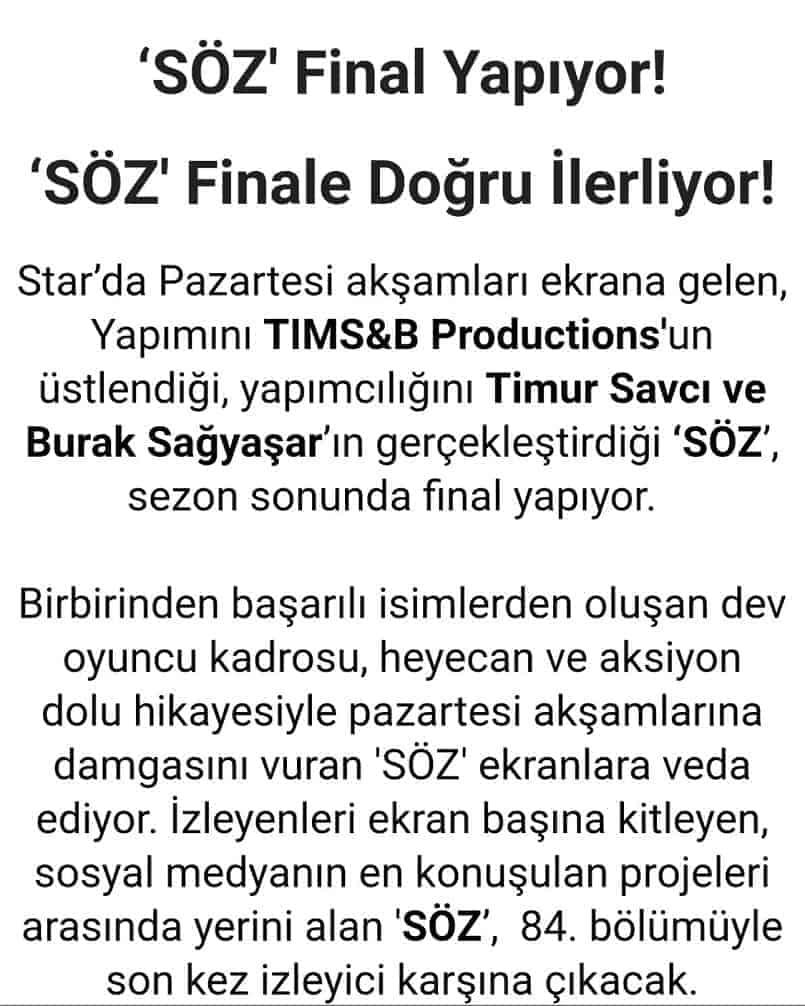 söz final mayıs 2019