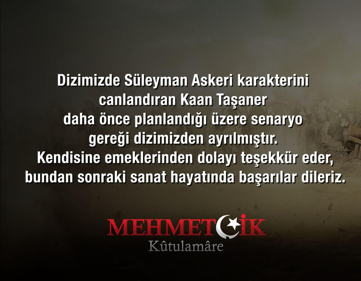 Mehmetçik Kutül Amare Kaan Taşaner açıklaması