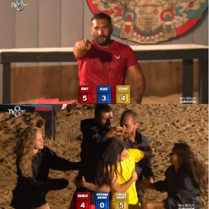 Survivor 2018 Enternasyonal Oyunu sonucu resimleri