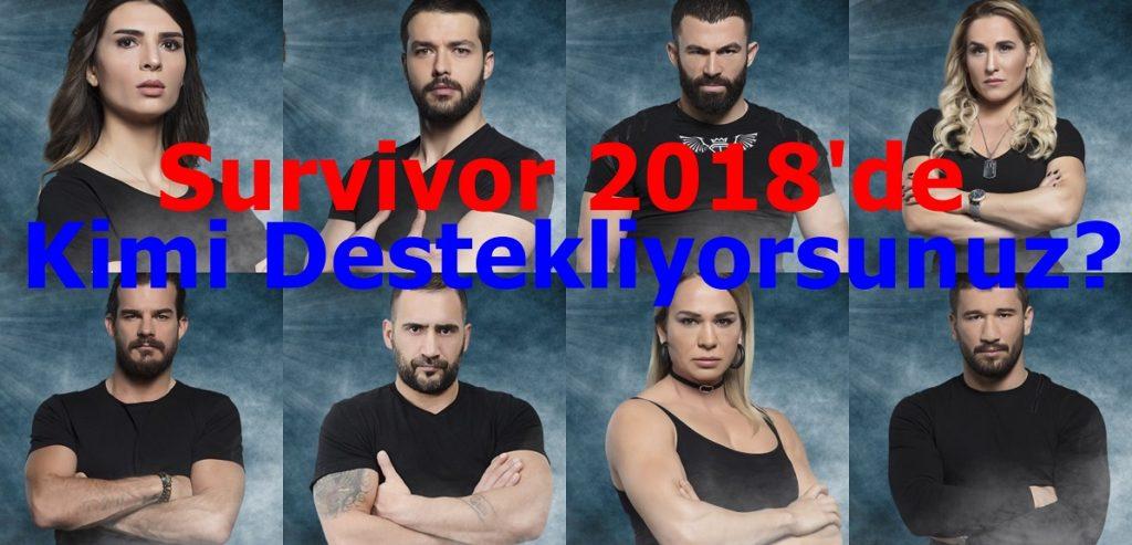 Survivor 2018de Kimi Destekliyorsunuz resimleri