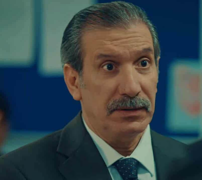 Mehmet Avcı Leke dizisi Cevat