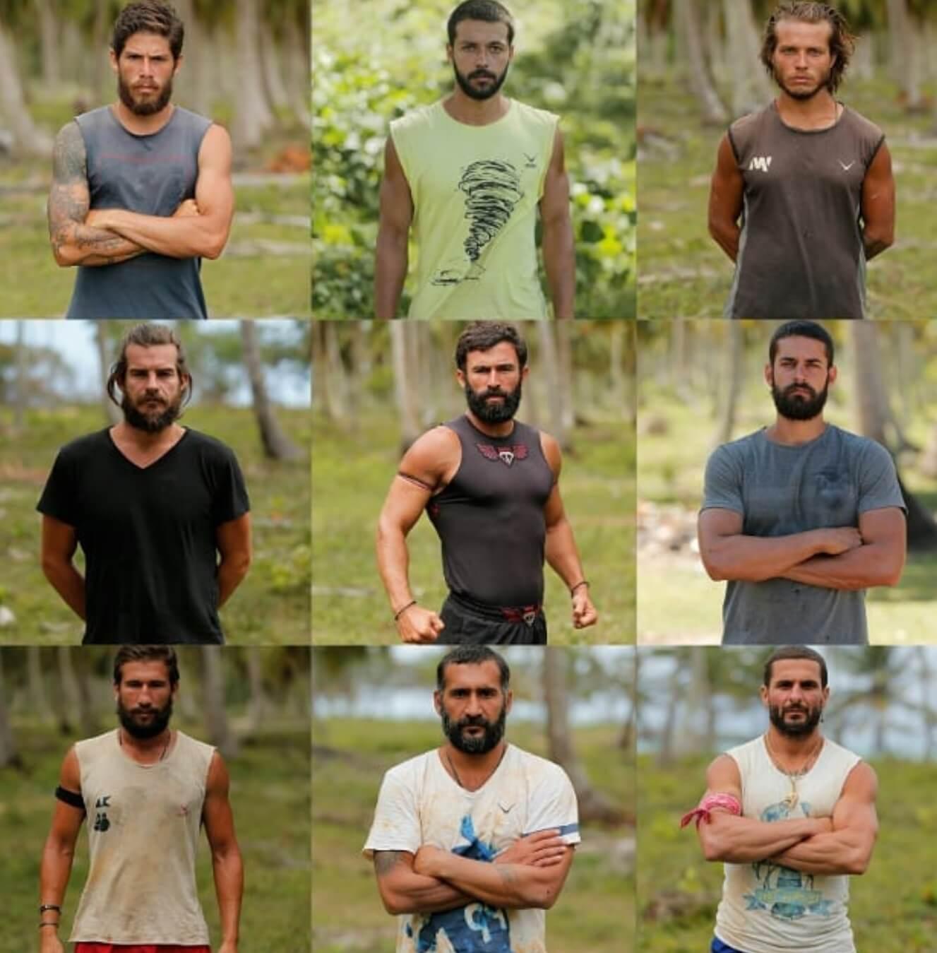 Survivor 2018 24 27 Nisan erkekleri