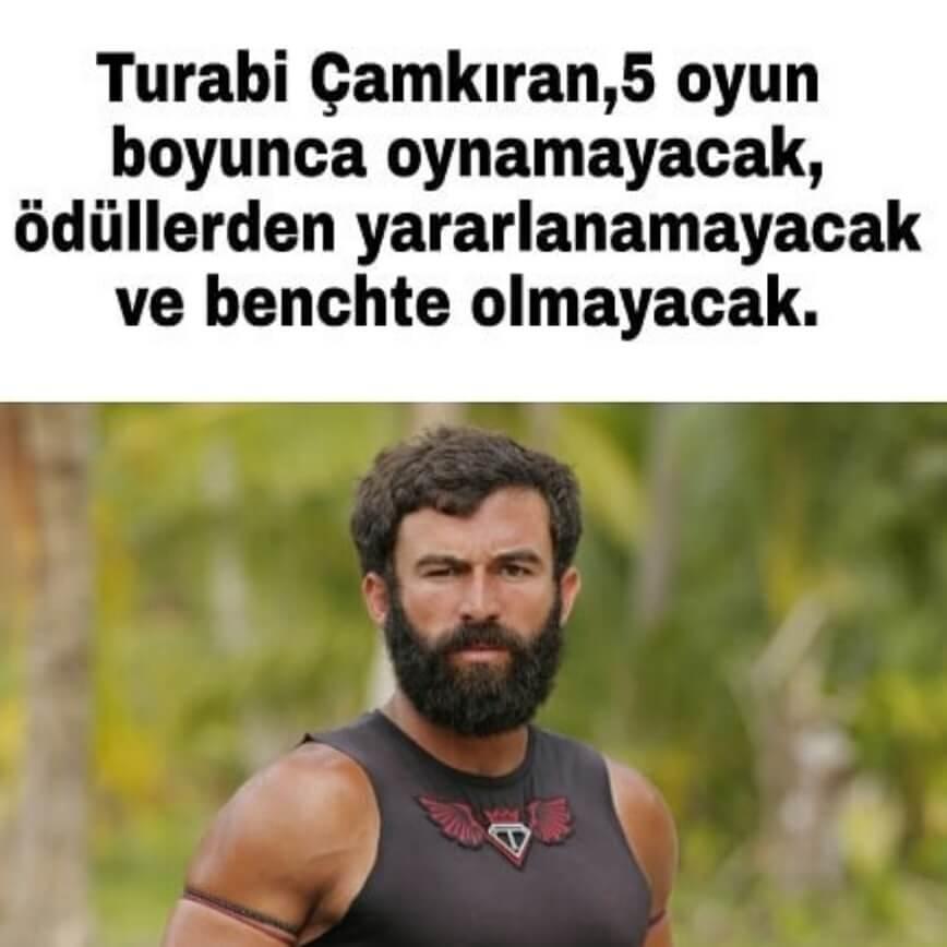 Survivor 2018 Turabi ceza aldı