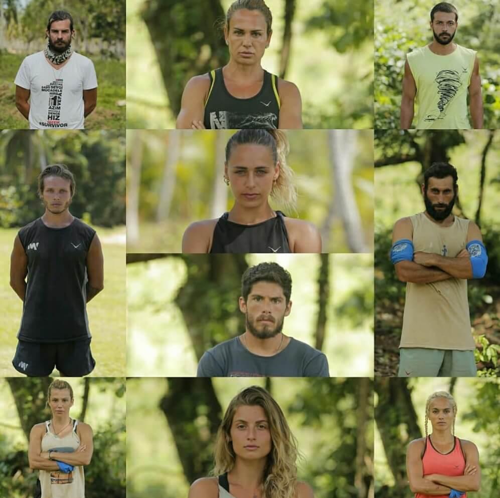 Survivor 2018 Yeni Gönüllüler takımı 2