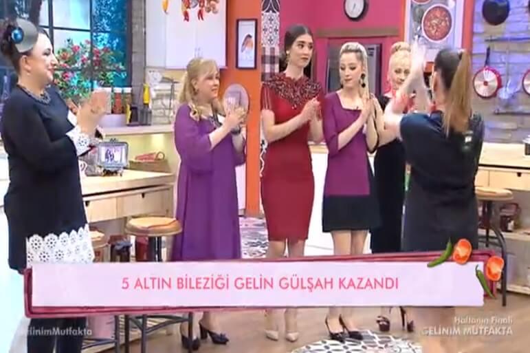 Gelinim Mutfakta 4 Mayıs Altınları Gülşah Kazandı