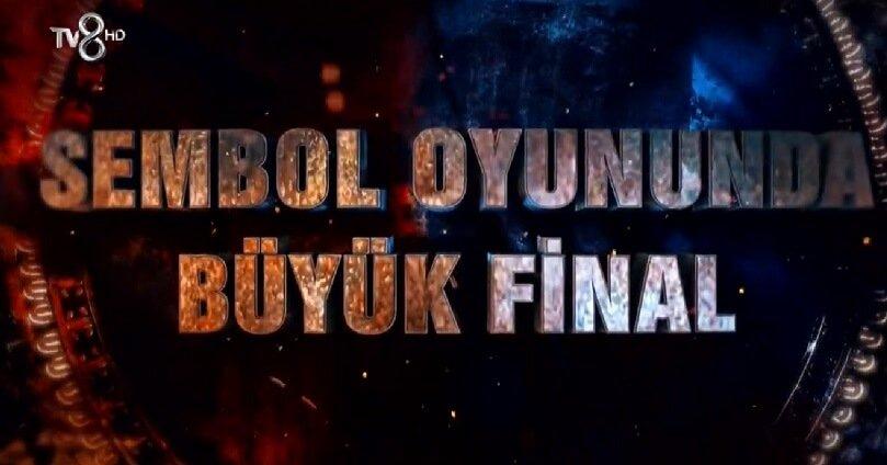 Survivor 2018 14 Mayıs Sembol finali