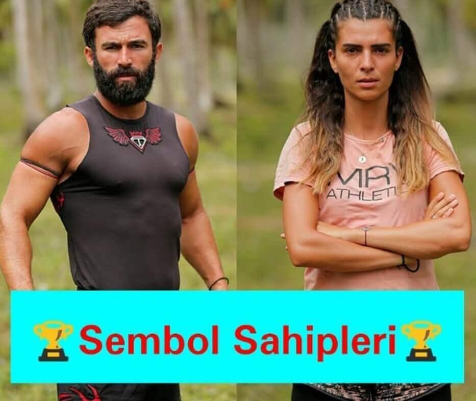 Survivor 2018 83. Bölüm sembol sahipleri