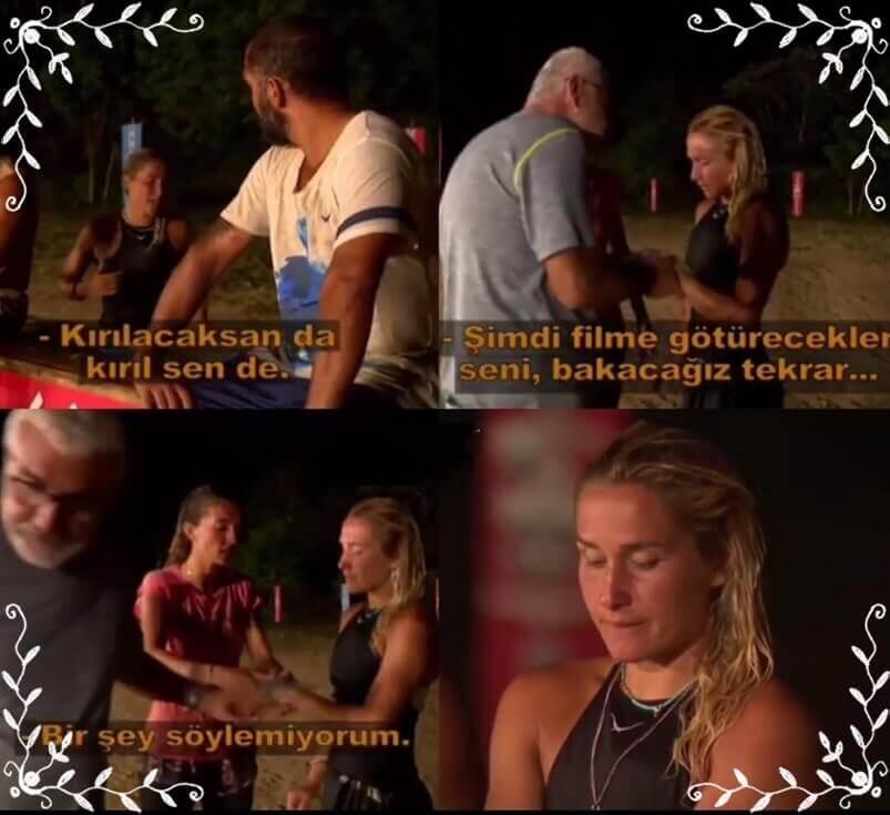Survivor 2018 Sema Diskalifiye