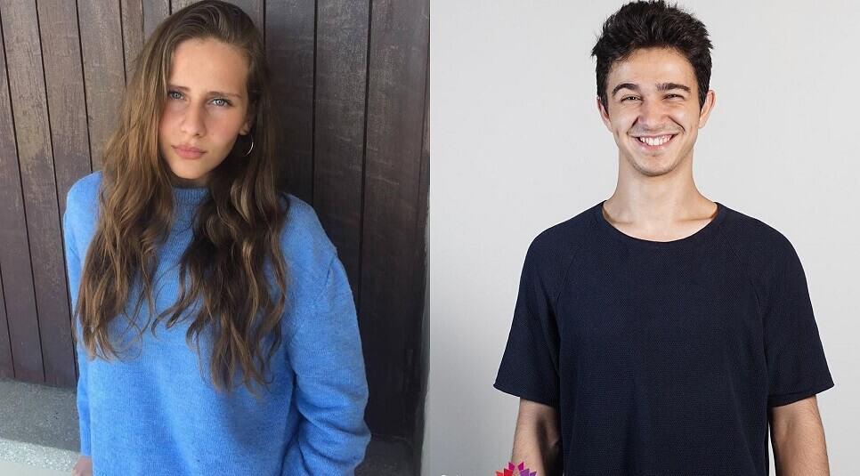 Fahriye Kesimal ve Gürberk Polat geleceğin starı birincieri