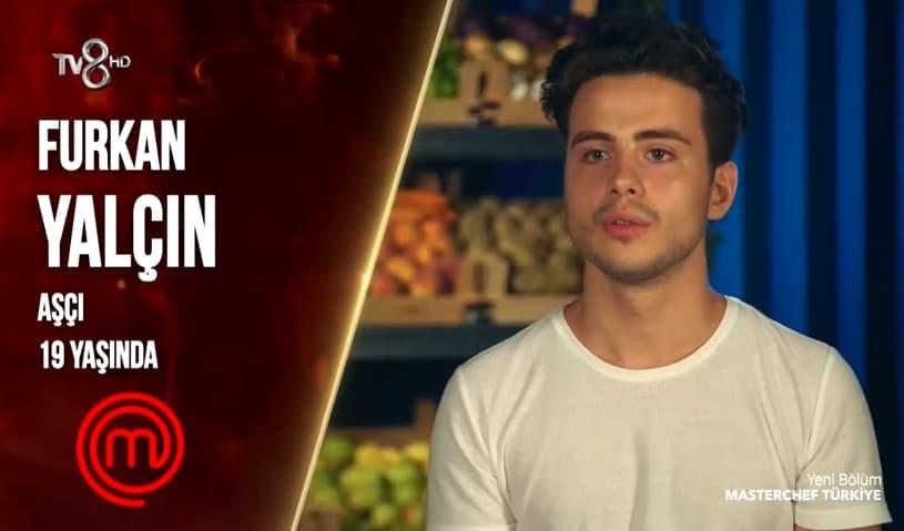 Furkan YalçınMasterChef Türkiye yarışmacısı