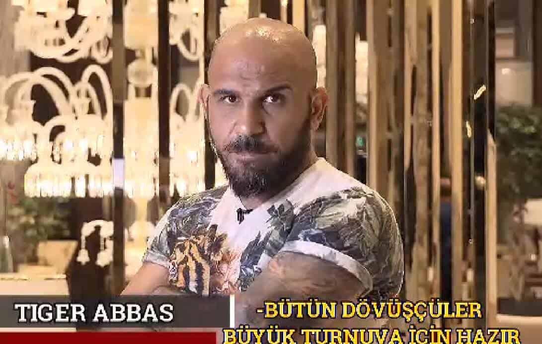 Yüreğin Kadar Eğitmeni Tiger Abbas