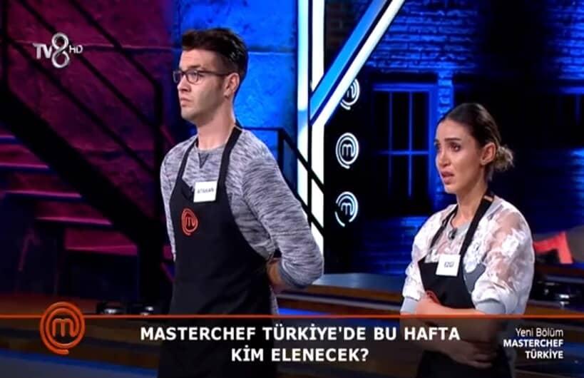 MasterChef Türkiye 23 Eylül ezgi elendi