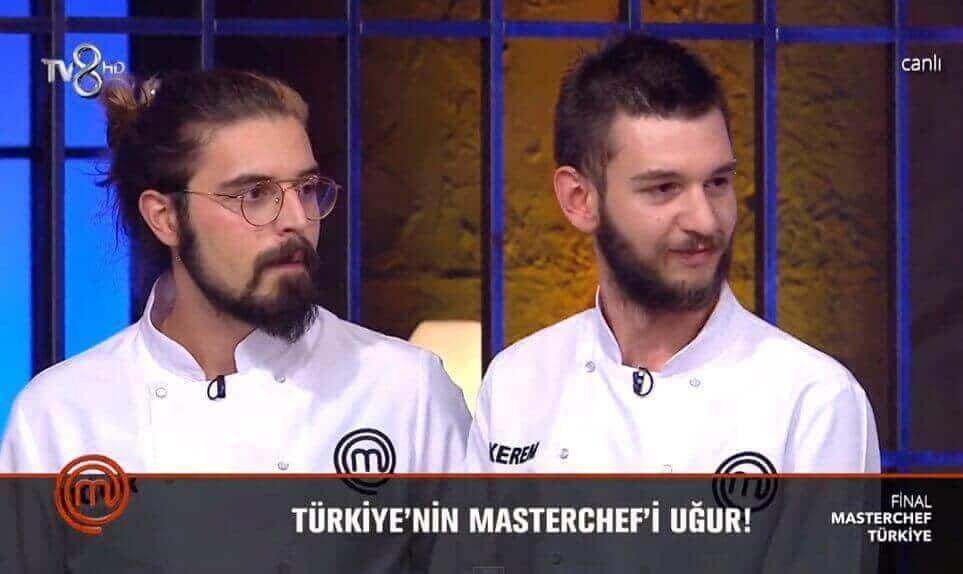 MasterChef Türkiyeyi kazanan Uğur oldu