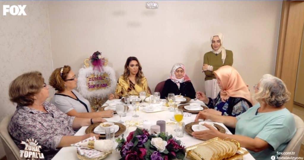Zuhal Topalla Sofrada 14 Eylül