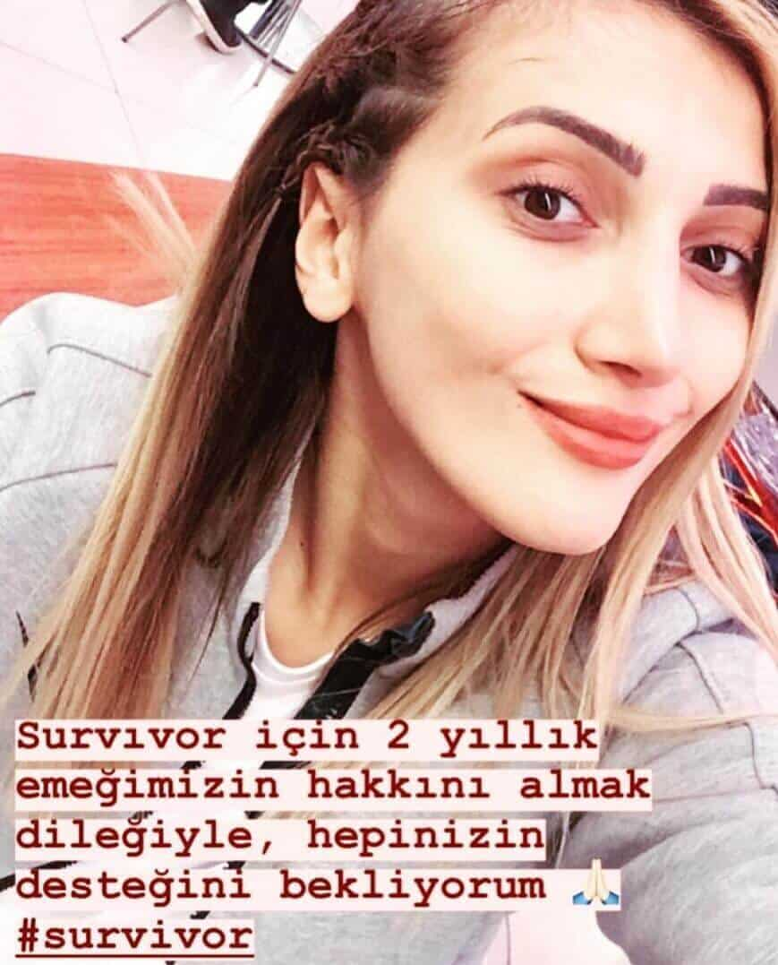 Büşra Nur Yalçın Survivor 2019