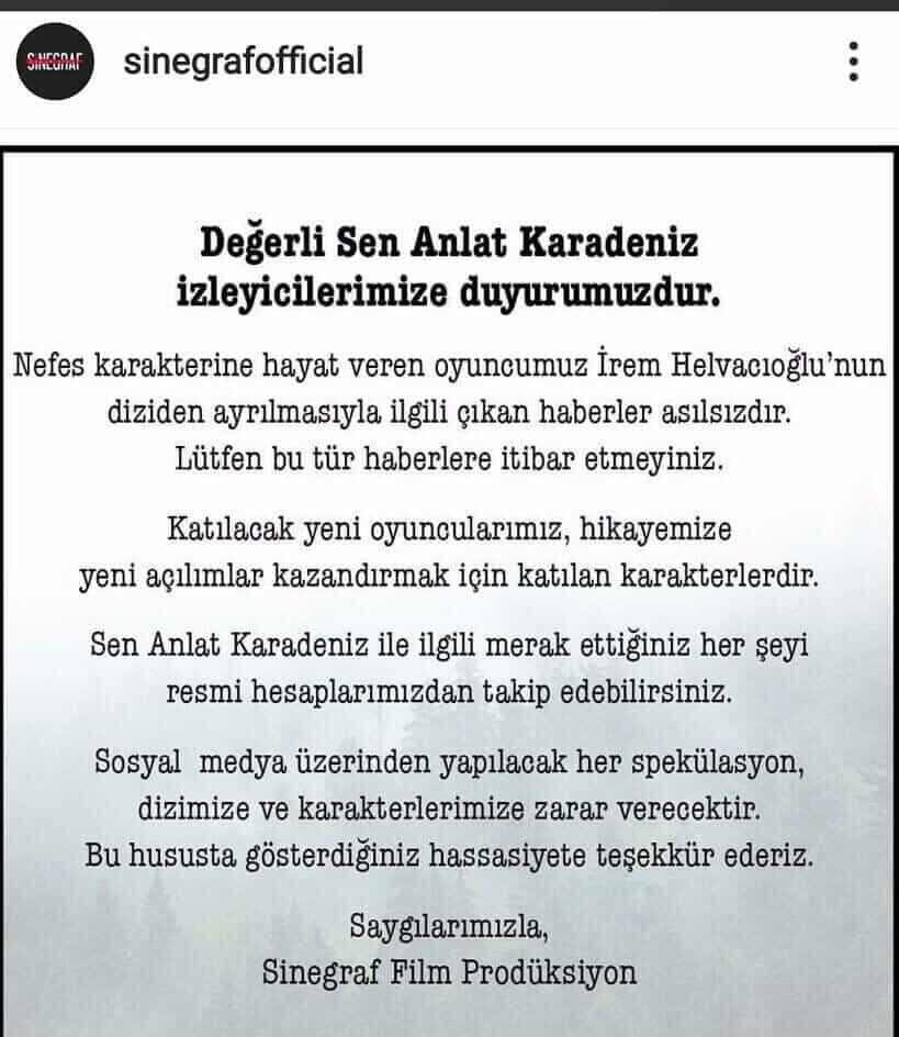 rem Helvacıoğlu Sen Anlat Karadeniz