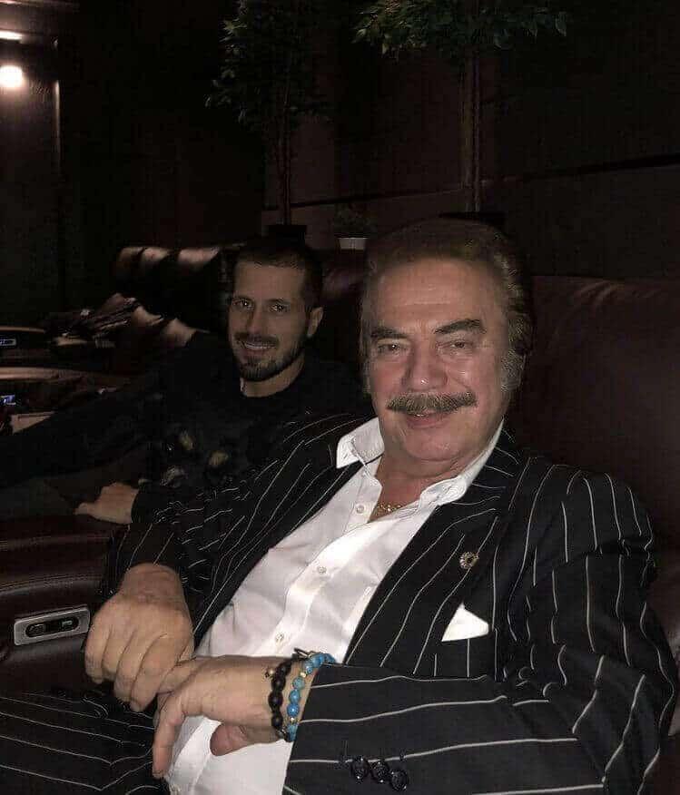 Gökhan Gencebay ve babası