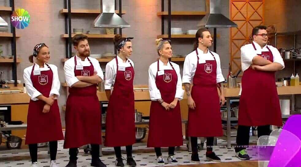 Lezzet Akademisi yarışmacıları