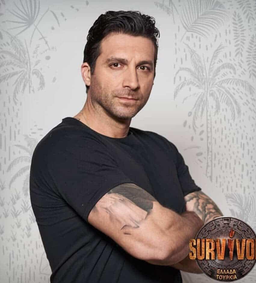 Survivor 2019 Yunanistan Tony Stourates