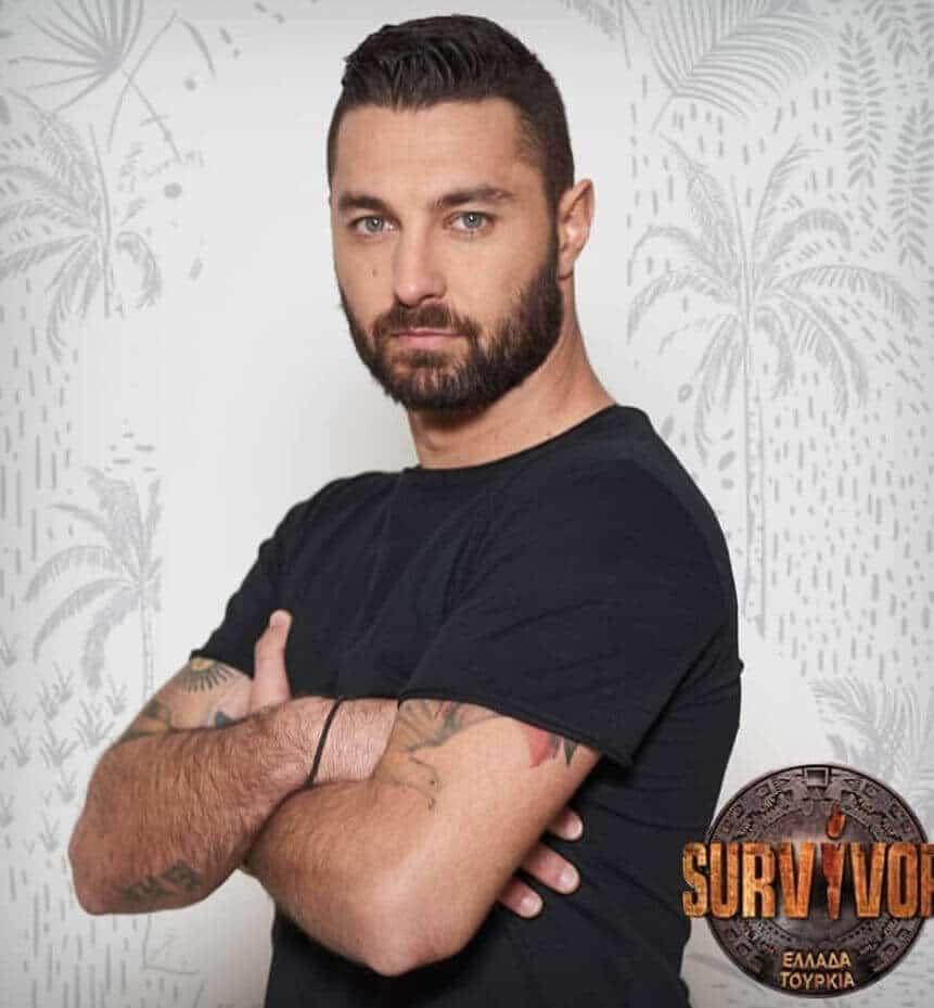 Survivor 2019 Yunanistan takımı Penagidis Konstantinidis