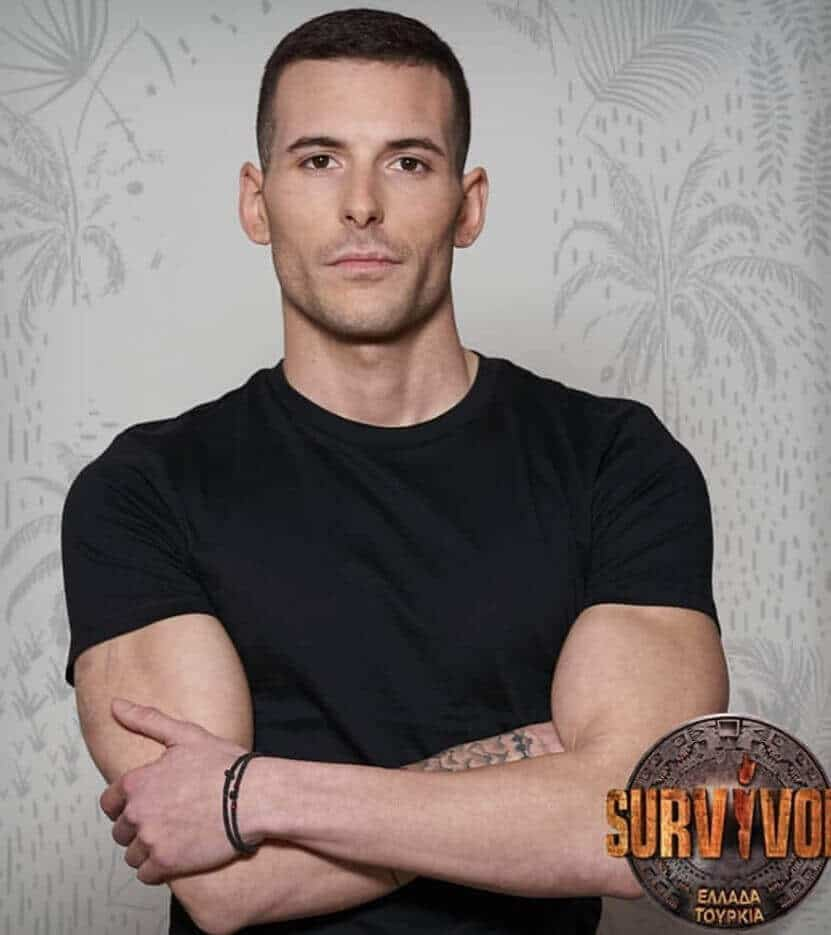 Survivor 2019 Yunanistan yarışmacısı Nikos Kosmas