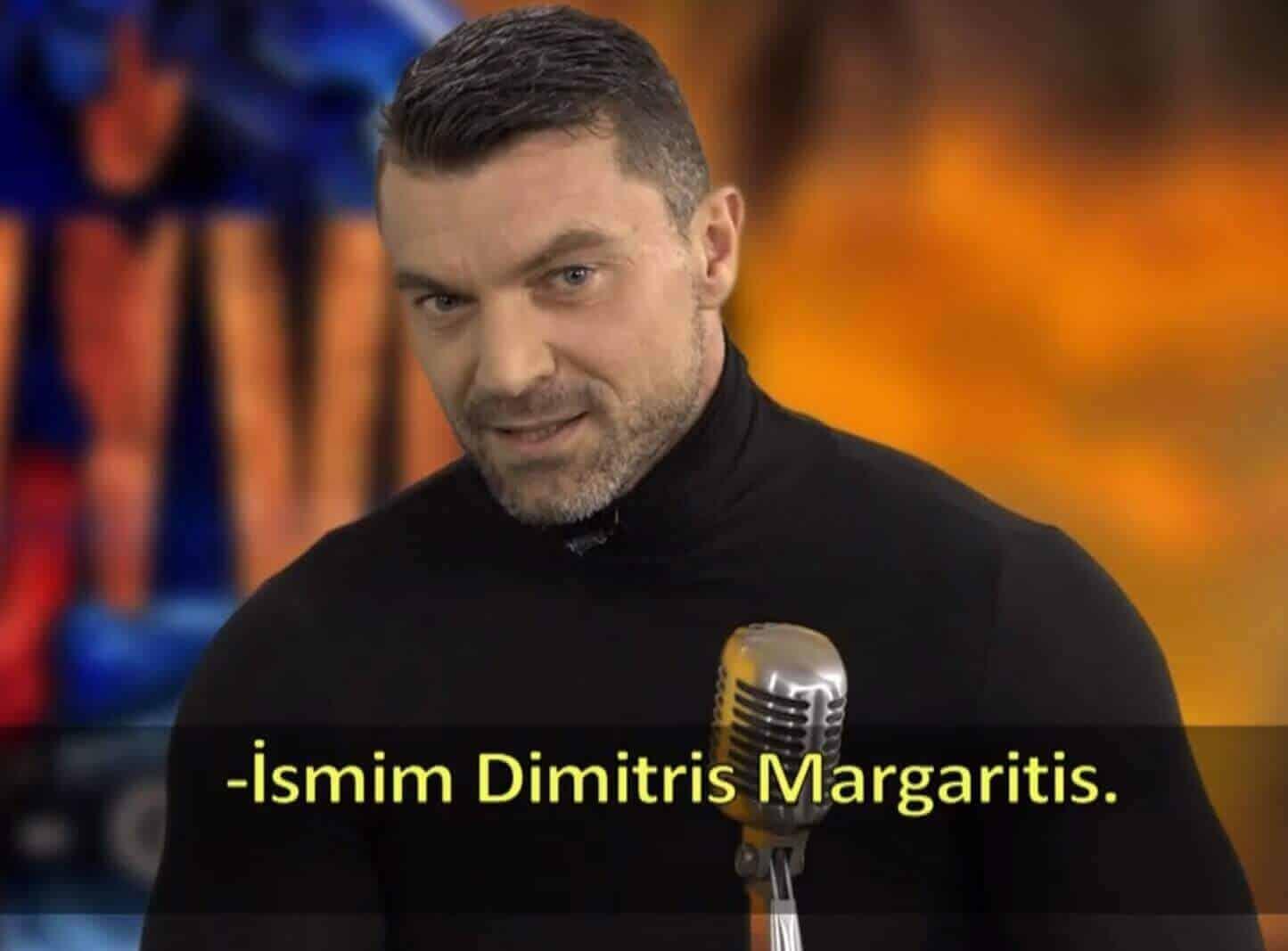 Survivor Dimitris margaritis