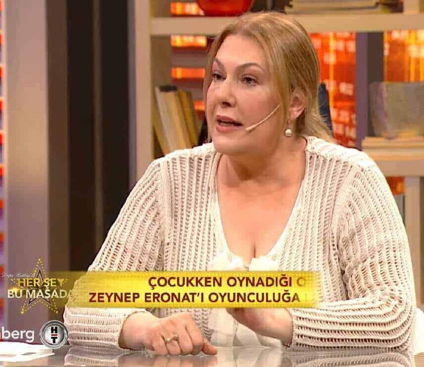 Zeynep Eronat Yüzleşme dizisi