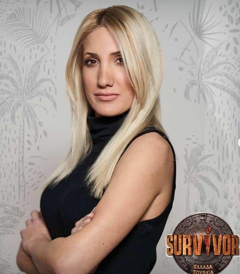 survivor 2019 Yunan yarışmacılar Elpida Kolovou