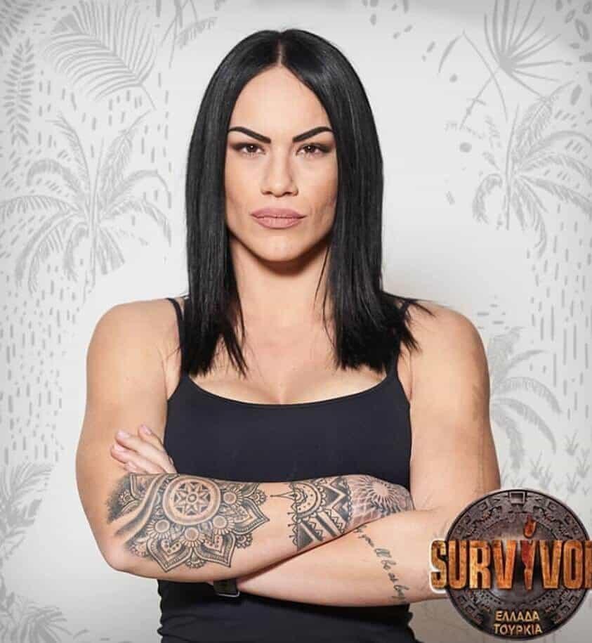 survivor 2019 Yunan yarışmacılar Nadia Maurouedo