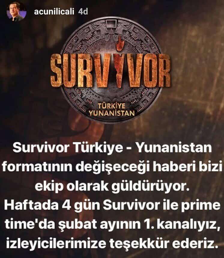 Survivor 2019 final açıklaması