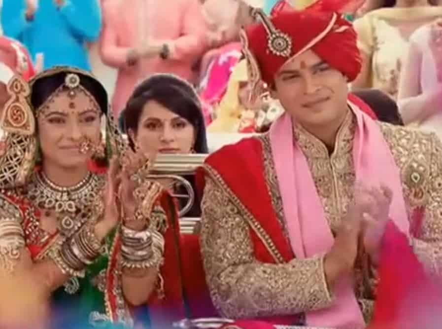 kimizin Yerine Şiv ve Anandi düğün