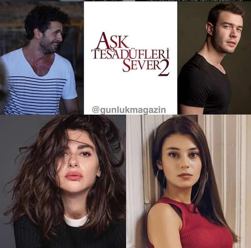 Aşk Tesadüfleri Sever 2 filmi 2020 oyuncuları