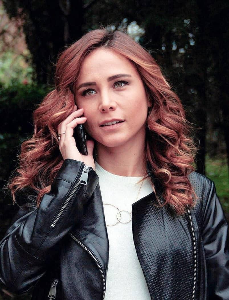 Burçin Terzioğlu Kurşun dizisi oyuncusu Leyla