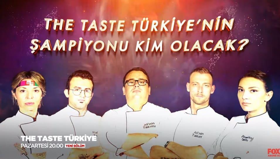 The Taste Türkiyeyi Kim Kazanacak