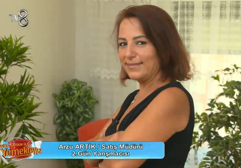 Seda Sayanla Yemekteyiz yarışmacısı Arzu ARTİK