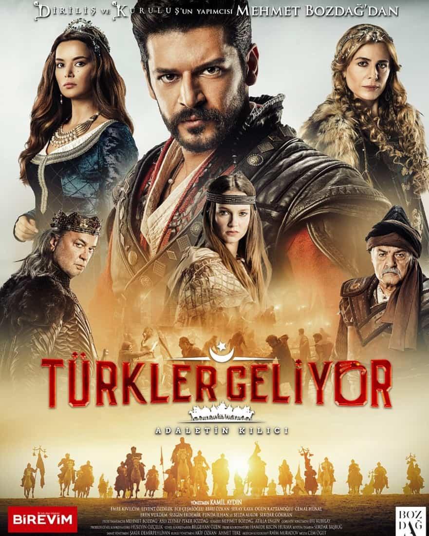 Türkler Geliyor Filmi afişi