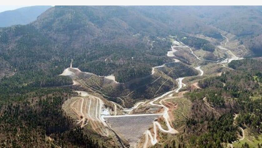 Baraj dizisi Sakarya Akçay Barajı
