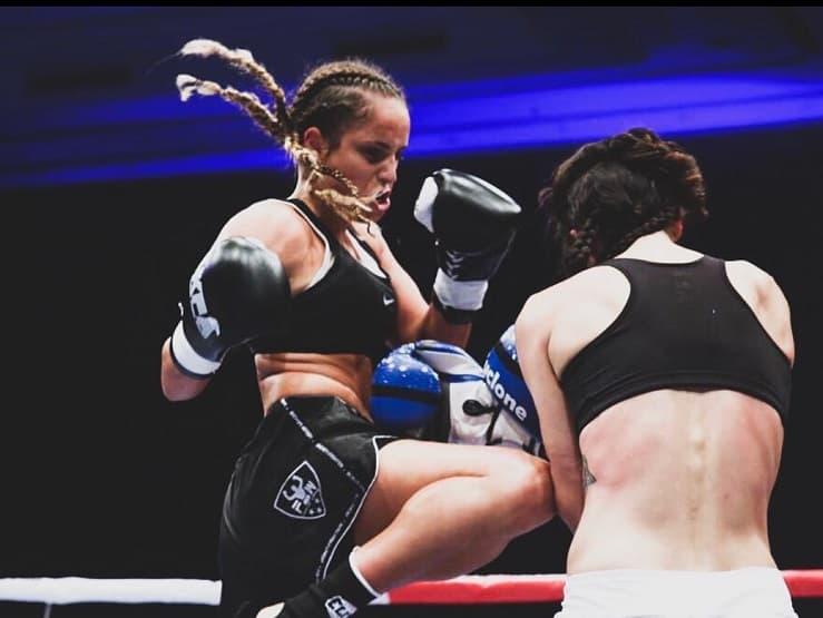 irem akın kick boks