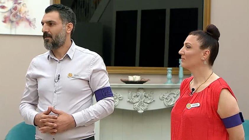ef Aras Hancıoğlu ve Yardımcısı Fatoş Salih