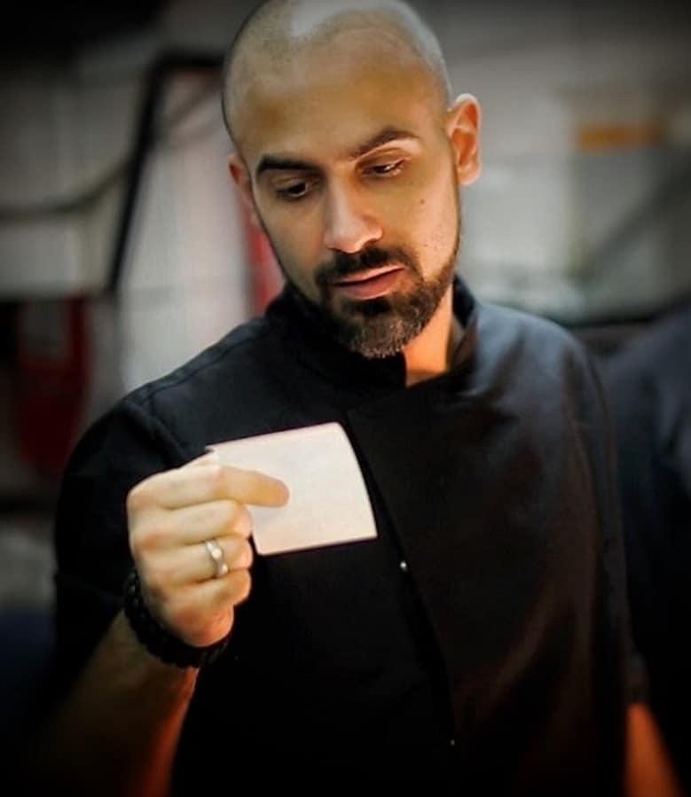 Gabriele Sponza 38 yaşında italyan bir aşçı