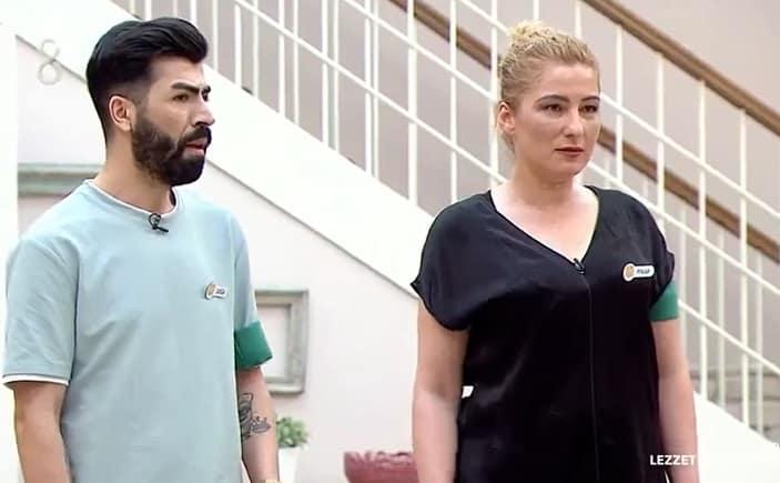 lezzet düşkünleri yarışmacıları Pınar ve Doğa