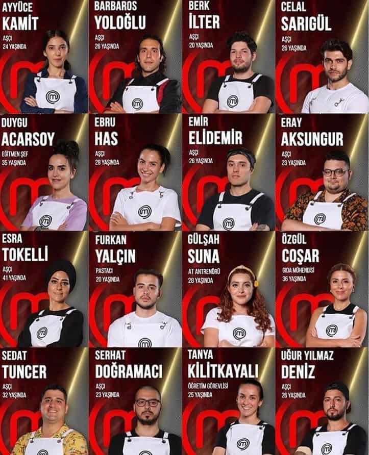 MasterChef Türkiye 2020 Son 16 resimleri