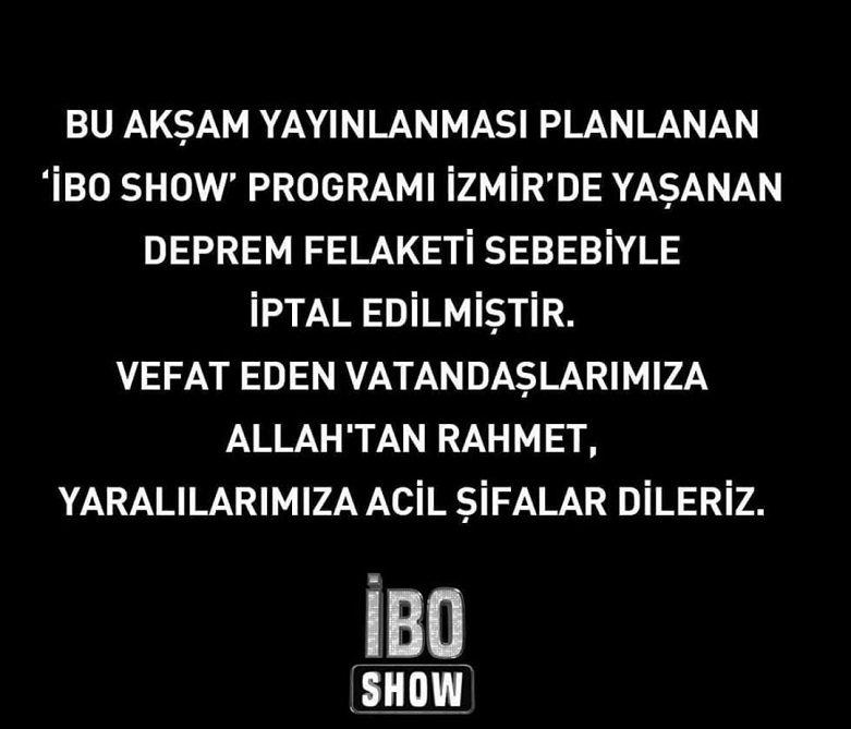 Ibo Show neden yok