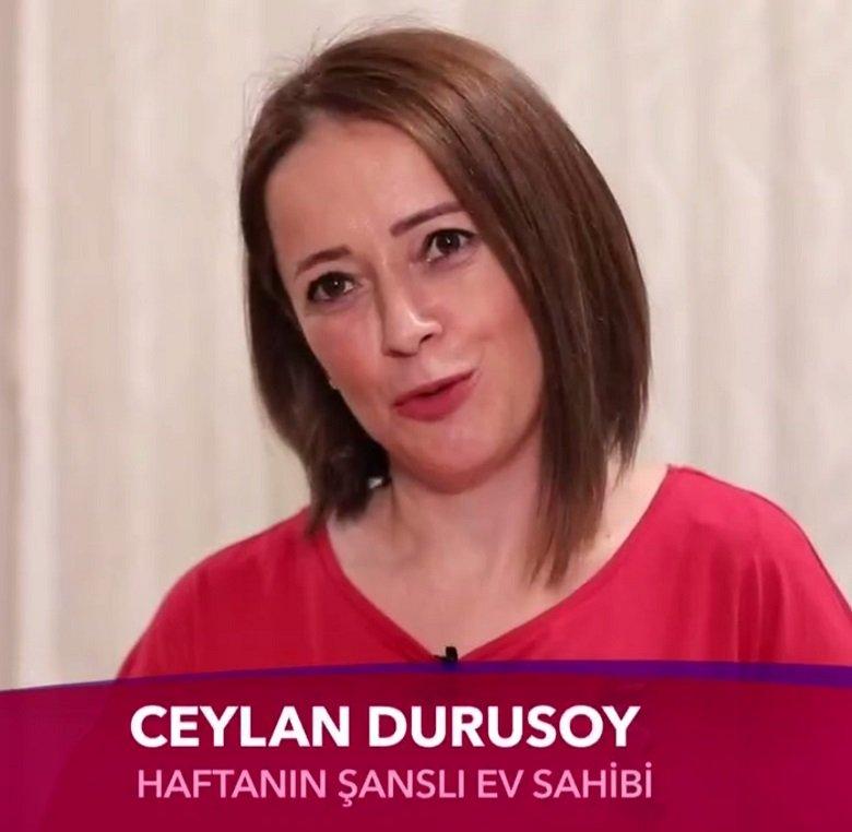 Ceylan Durusoy yeni bir ev haftanin sanslisi