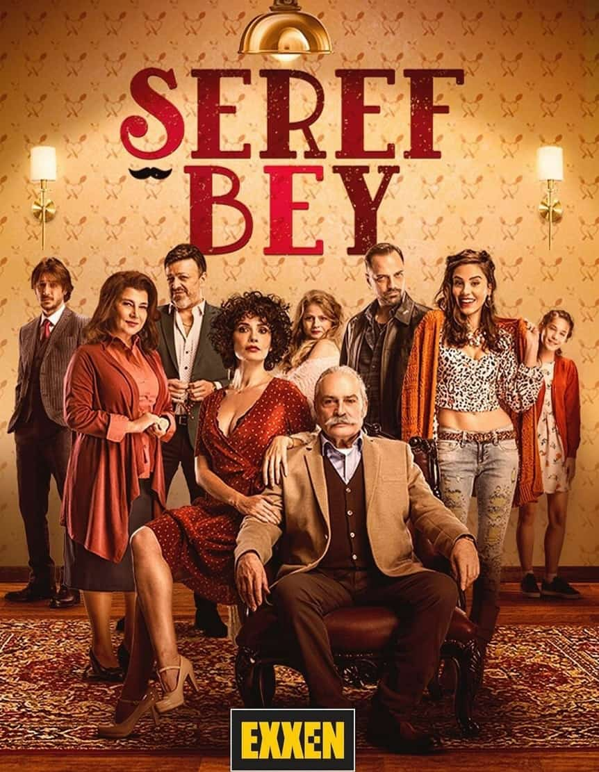 Seref Bey dizisi afisi