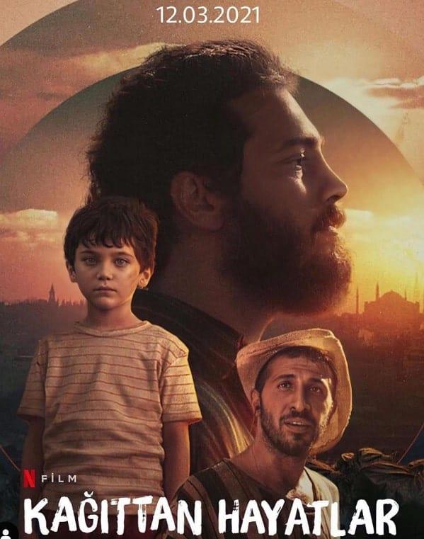 Kagittan Hayatlar filmi afisi