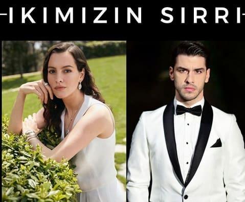 İkimizin Sırrı oyuncuları Aras Aydın, Leyla Feray,